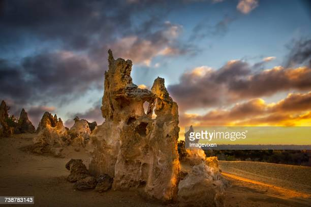 The Pinnacles, Nambung National Park, Perth, Western Australia, Australia
