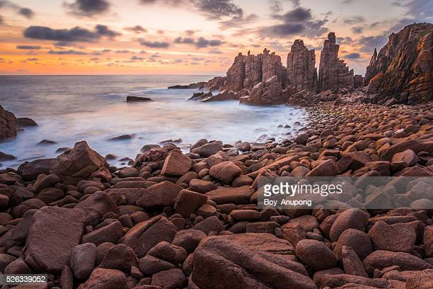 The Pinnacles rock at Phillip Island, Australia.