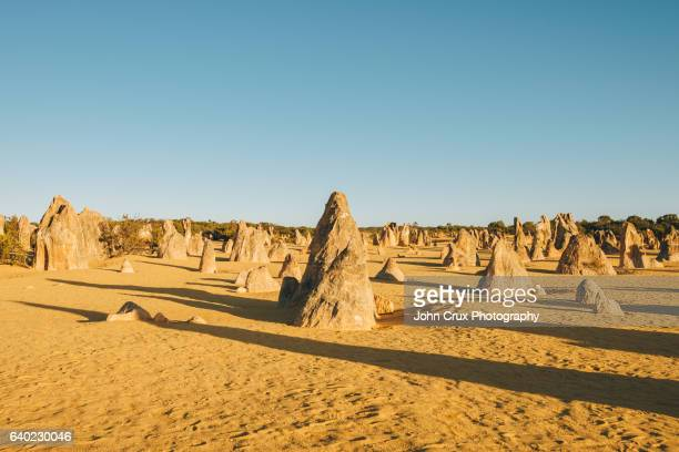 The pinnacles rocks