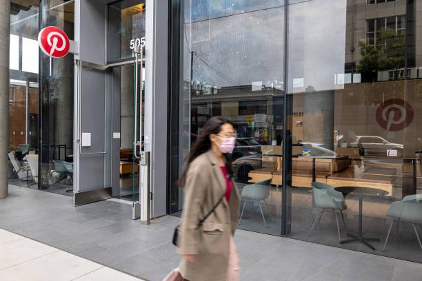 CA: Pinterest Headquarters Ahead Of Earnings Figures