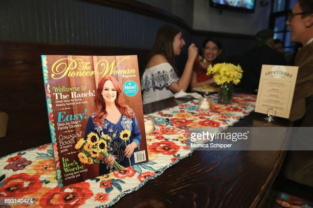 The Pioneer Woman Magazine on display during The Pioneer Woman Magazine Celebration with Ree Drummond at The Mason Jar on June 6, 2017 in New York...
