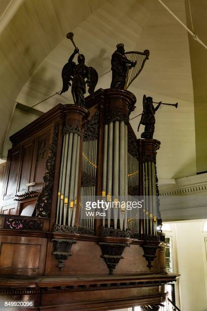 The pipe organ in the Centrum Kerk in Paramaribo Suriname was built in the Netherlands and installed in 1846 It is a replacement for an earlier organ...