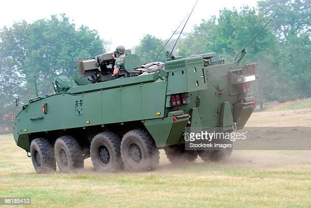 The Piranha IIIC of the Belgian Army.