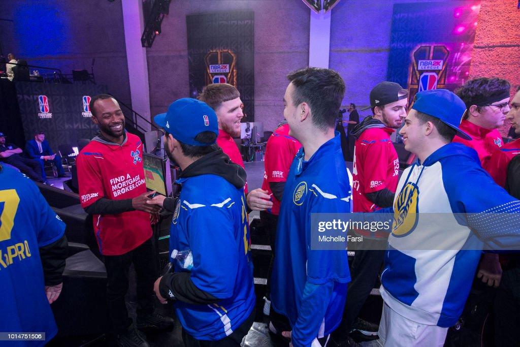 Pistons Gaming Team v Warriors Gaming Squad : News Photo
