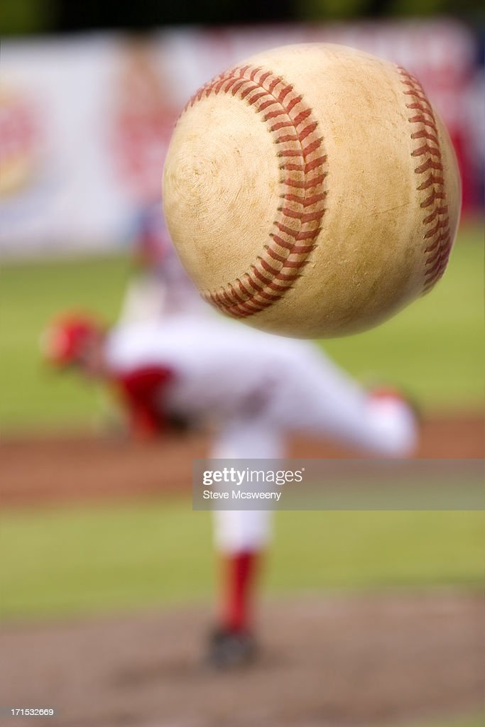 The pitch : Stock Photo