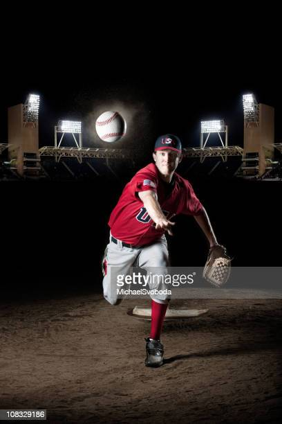 the pitcher - baseball pitcher stock pictures, royalty-free photos & images