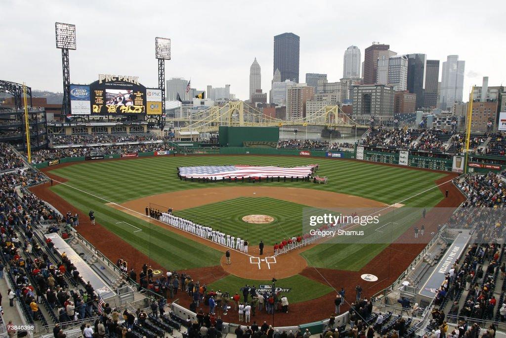 St. Louis Cardinals v Pittsburgh Pirates : Foto di attualità