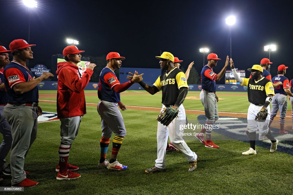MLB Little League Classic - St Louis Cardinals v Pittsburgh Pirates : News Photo