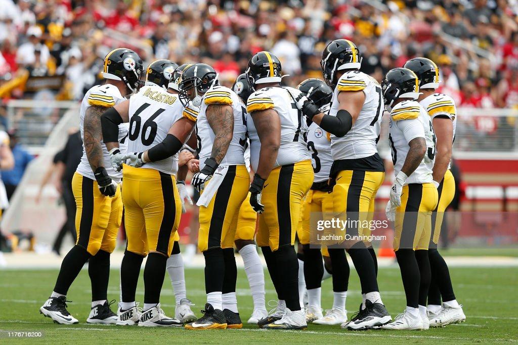 Pittsburgh Steelers vSan Francisco 49ers : News Photo