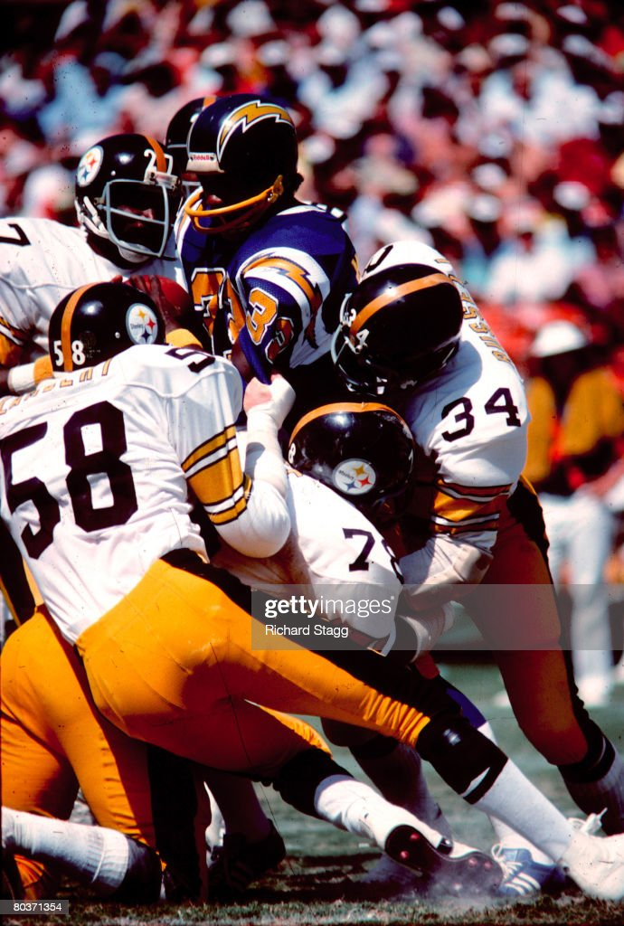 Pittsburgh Steelers Vs San Diego Chargers   September 21, 1975