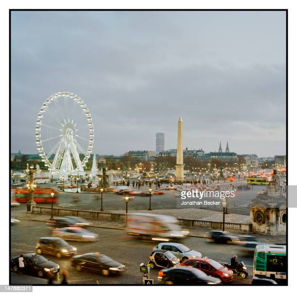 The Place de la Concorde is photographed at the Crillon Debutante Ball for Vanity Fair Magazine on November 26 2011 in Paris France PUBLISHED IMAGE