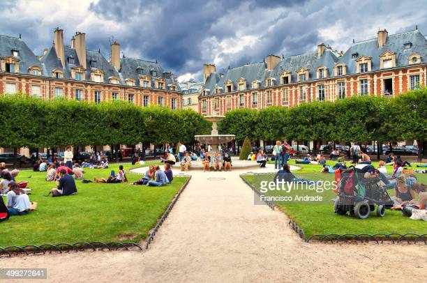The Place des Vosges, located in the Marais, is the oldest planned square and one of the most beautiful in Paris. Also called Royal Plaza because it...