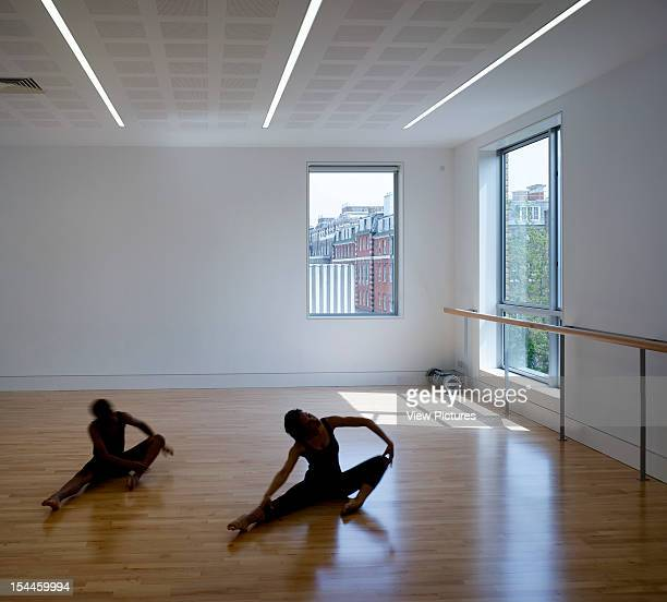 The Place London School Of Contemporary Dance London United Kingdom Architect Allies And Morrison The Place Dance Studios With Two Young Dancers