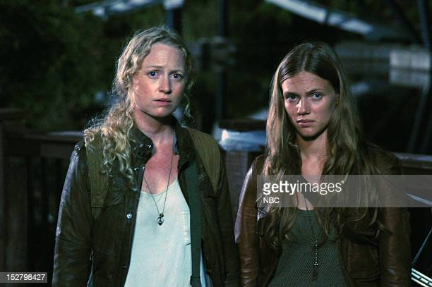 REVOLUTION 'The Plague Dogs' Episode 104 Pictured Anna Lise Phillips as Maggie Tracy Spiridakos as Charlie Matheson