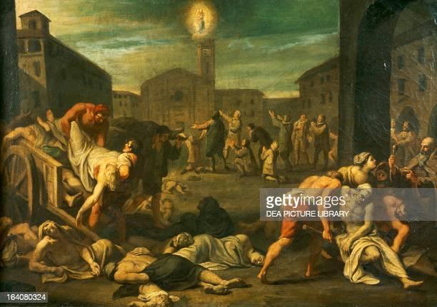 The plague in Rome Italy 17th century Rome Museo Storico Nazionale Dell'Arte Sanitaria