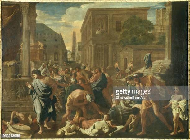 The plague of Asdod 1631 Poussin Nicolas Louvre Museum Palestine