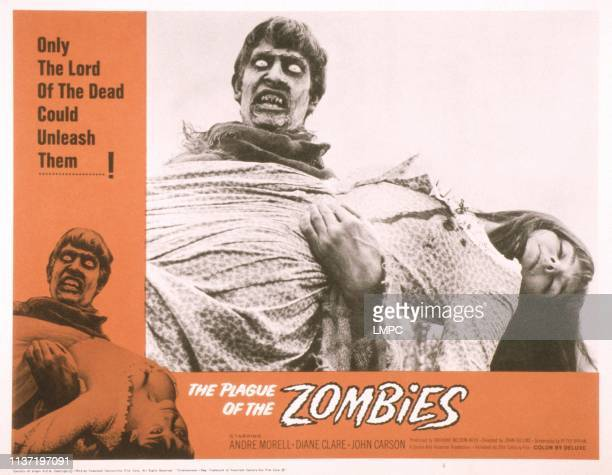 The Plague Of The Zombies US lobbycard Jacqueline Pearce 1966