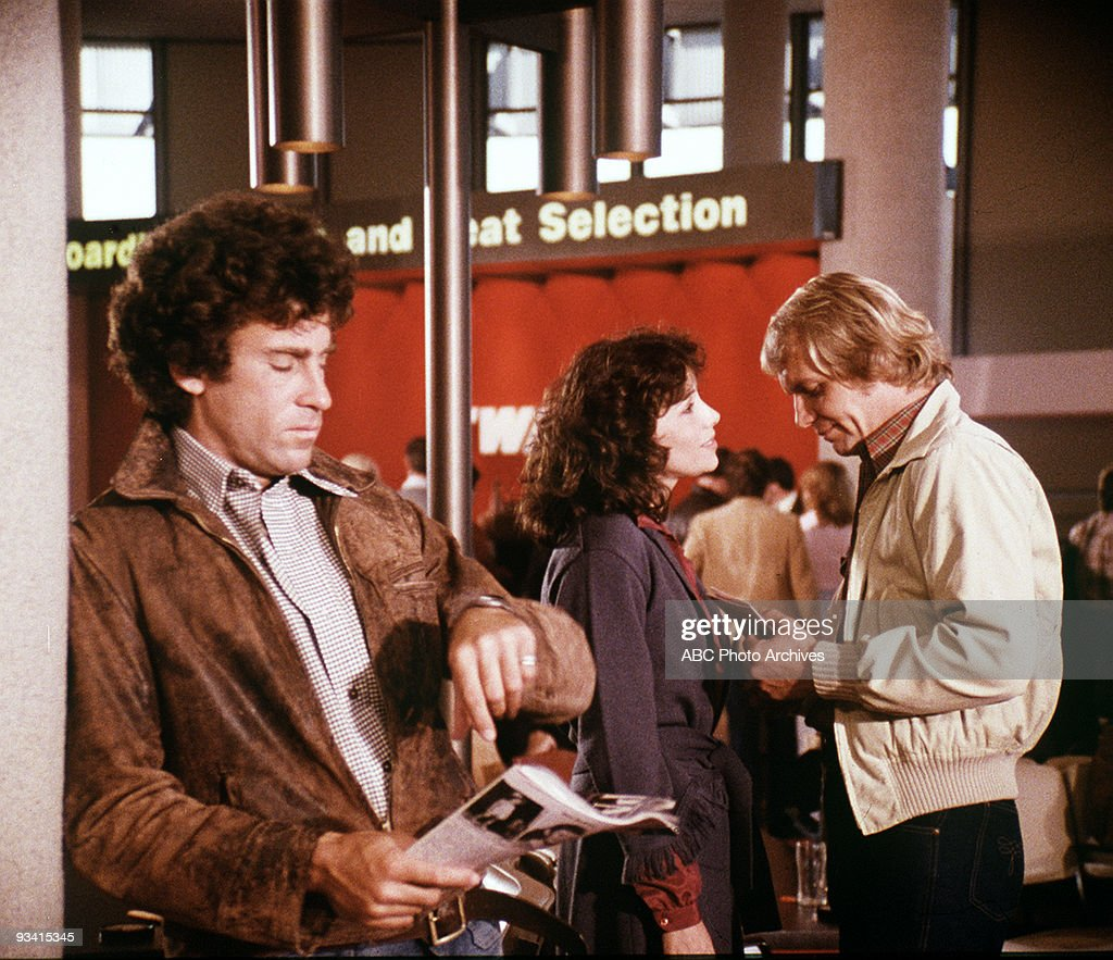 HUTCH - 'The Plague' -Season Three - 11/19 & 26/1977, Starsky (Paul Michael Glaser) and Hutch (David Soul) pick up a colleague from the airport who is then struck down by a deadly disease caught from a fellow passenger.The carrier is an international assassin planning to kill a major mob boss but the virus threatens the whole city. Hutch becomes the latest victim., Janet Margolin guest stars as Dr. Judith Anne Kaufman.,