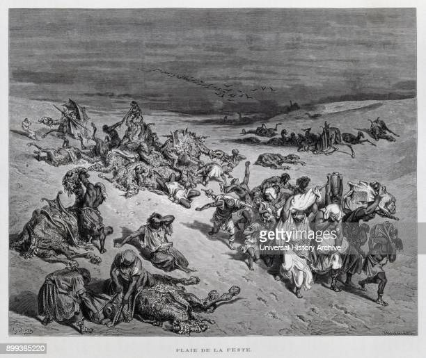 Illustration from the Dore Bible 1866 In 1866 the French artist and illustrator Gustave Doré published a series of 241 wood engravings for a new...