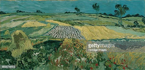 The Plain of Auvers 1890 Found in the collection of Österreichische Galerie Belvedere Vienna Artist Gogh Vincent van