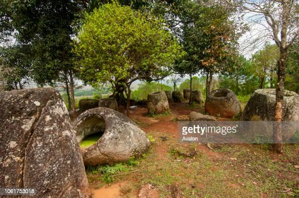 The Plain of Jars consists of thousands of stone jars scattered around the upland valleys and the lower foothills of the central plain of the...