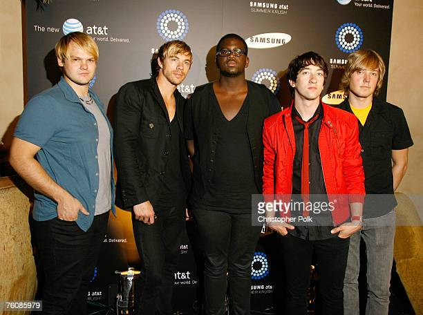 The Plain White T's at the Samsung Summer Krush Tour at the Music Box Theatre on August 13 2007 in Los Angeles California