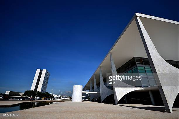 The Planalto Palace in Brasilia one of the works of architect Oscar Niemeyer who died yesterday at 104 on December 6 2012 Niemeyer the Brazilian icon...