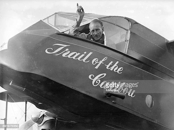 The plane was previously owned by Jim Mollison who attepted the same flight with Amy Johnson a year earlier 9th August 1934