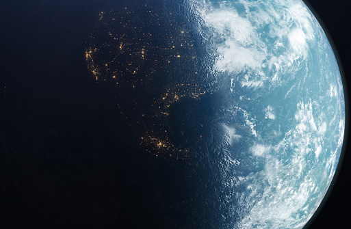 The planet earth taken from the outer space. - gettyimageskorea