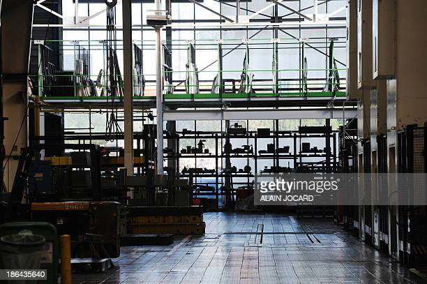 The plant of French automotive supplier Heuliez is deserted on October 31 2013 in Cerizay centralwestern France The plant definitively closed today...