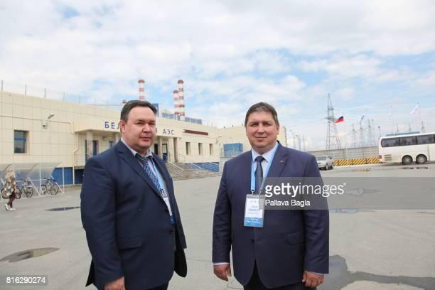 The plant operations are headed by by Mr Ivan Sidrow Plant Manager and Yury Nosov Engineering Chief at the Beloyarsk Nuclear Power Plant giving a...