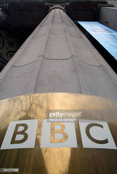 The plaque at the BBC's Bush House is shown in London 07 December 2004 The BBC said it would eliminate 2900 jobs or more than 10 percent of its...