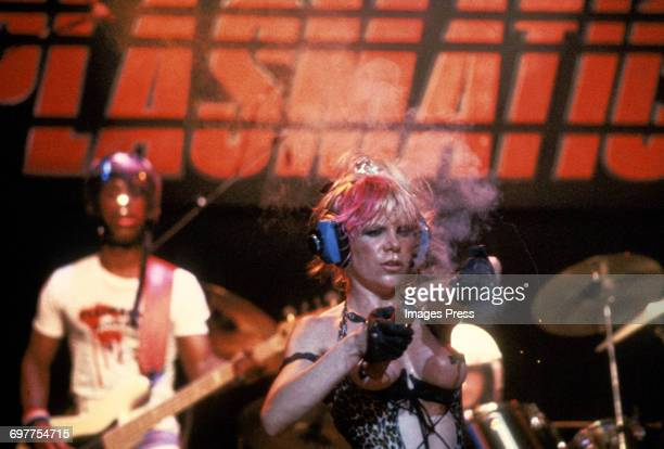 The Plasmatics in concert circa 1980 in New York City