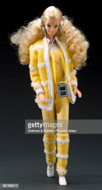 The plastic Barbie doll made by Mattel introduced in 1959 was still popular at the end of the 20th century Variants of Barbie and dolls similar to it...