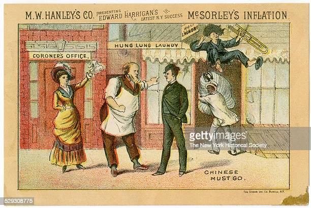 The play 'McSorley's Inflation' opened at the Theatre Comiqe on Broadway 1882 It featured a bar room set a bar owner named Peter McSorley It played...