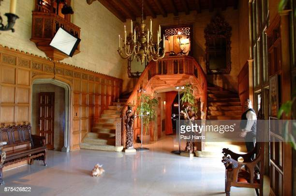 The Playboy mansion October 20 2004 in Holmby Hills Los Angeles California