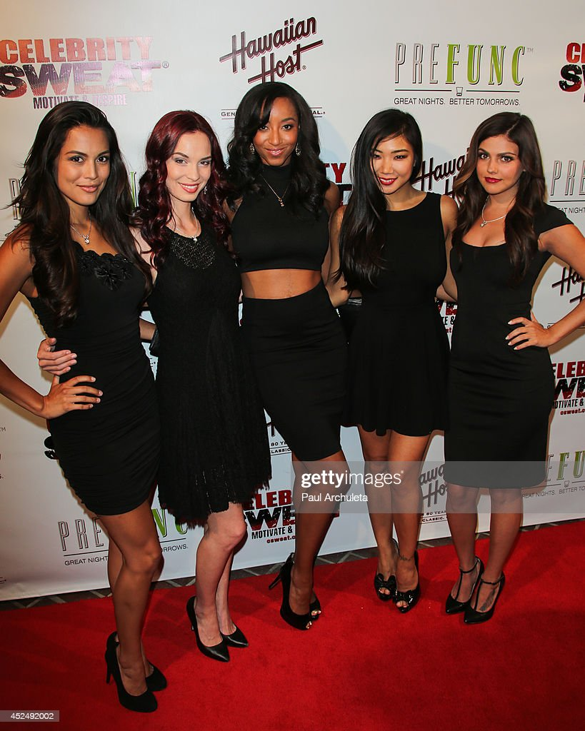 The Playboy Playmate Dancers attend Evander Holyfield's ESPYS Awards after party on July 16, 2014 in Los Angeles, California.