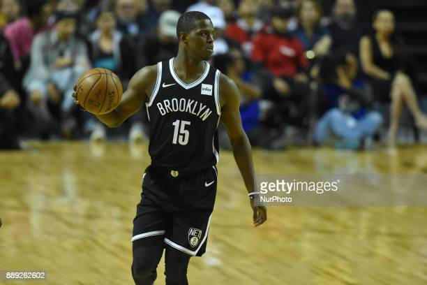 the player Isaiah Whitehead of the team Brooklyn Nets is seen in action during the match of NBA between of Miami Heat and Brooklyn Nets on December...