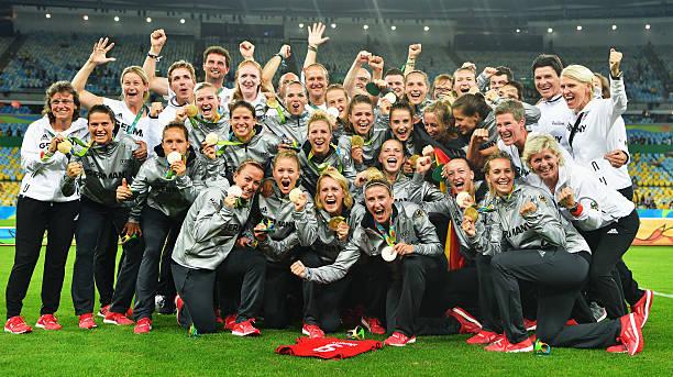 Sweden v germany women 39 s football olympics day 14 for Olimpici scandinavi