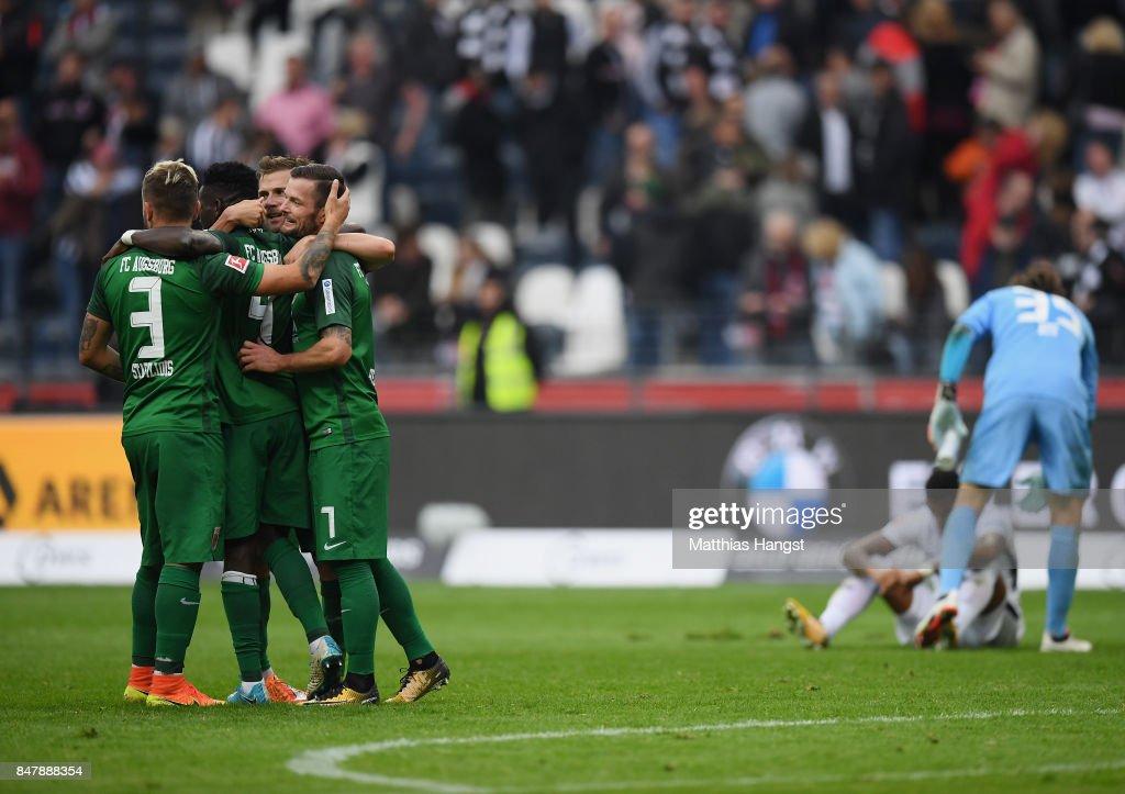 Eintracht Frankfurt v FC Augsburg - Bundesliga : Nieuwsfoto's