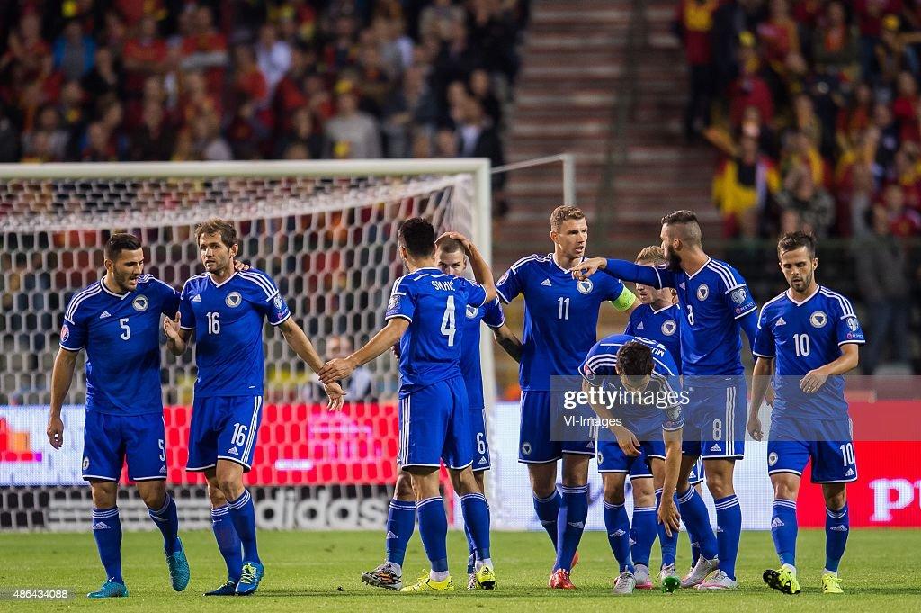 """UEFA Euro 2016 qualifier - """"Belgium v Bosnia and Herzegovina"""" : News Photo"""