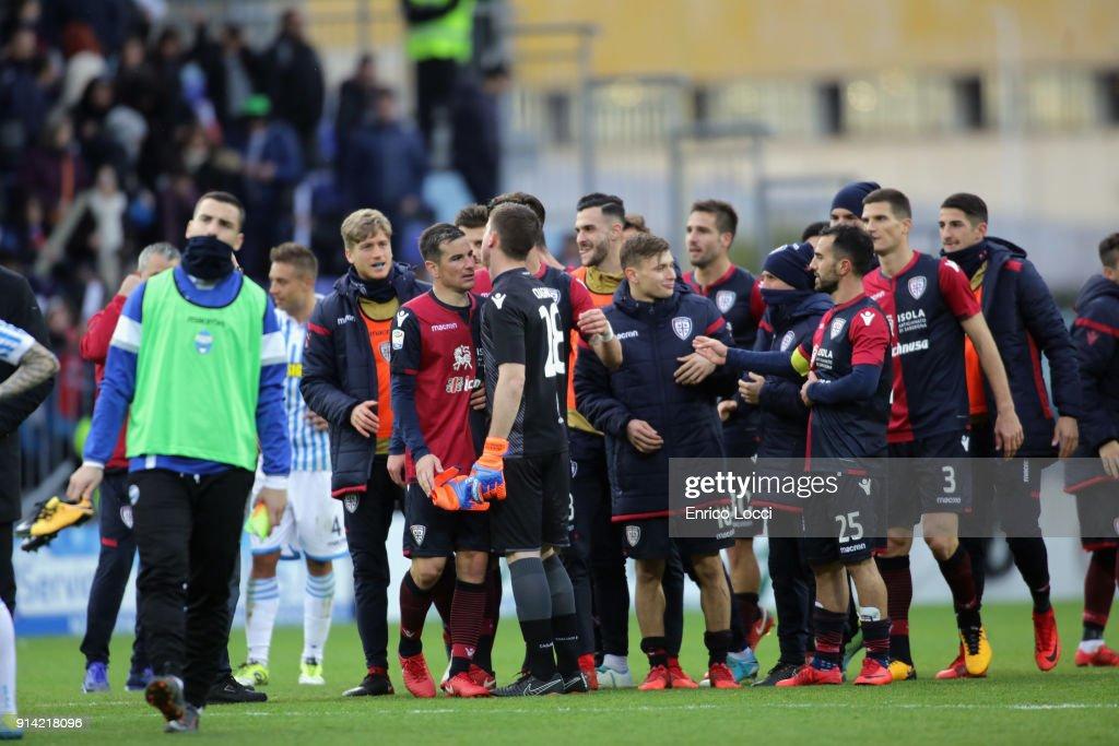 Cagliari Calcio v Spal - Serie A : Fotografía de noticias