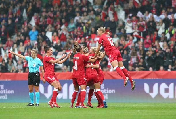 DNK: Denmark v Malta: Group E - FIFA Women's World Cup 2023 Qualifier