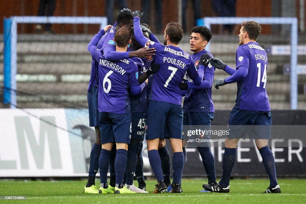 Randers FC vs FC Midtjylland - Danish Superliga : Nachrichtenfoto
