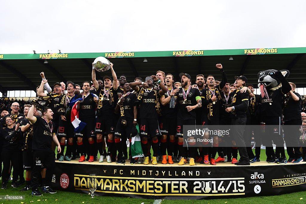 FC Midtjylland vs Sonderjyske - Danish Alka Superliga : News Photo
