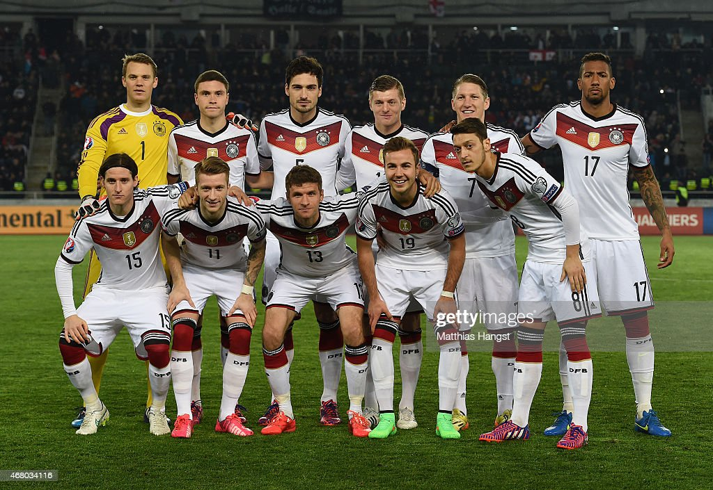 Georgia v Germany - EURO 2016 Qualifier : Photo d'actualité