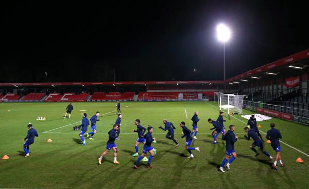 GBR: Salford City v Harrogate Town - Sky Bet League Two