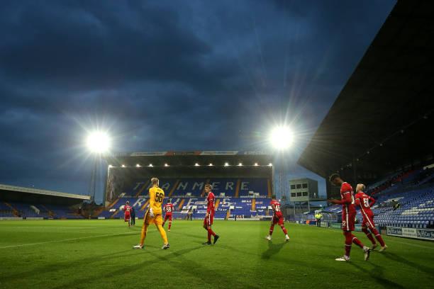 GBR: Tranmere Rovers v Liverpool U21 - EFL Trophy