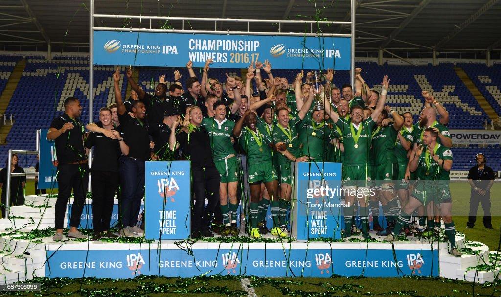 London Irish v Yorkshire Carnegie - Greene King IPA Championship Final: Second Leg : News Photo