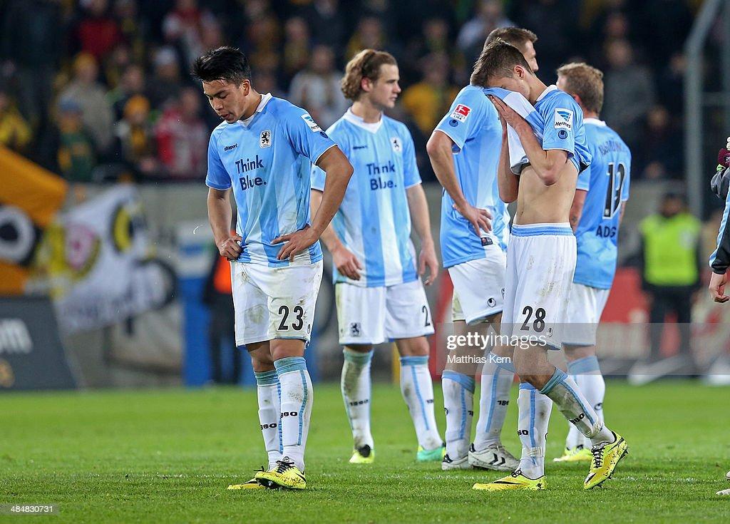 Dynamo Dresden v 1860 Muenchen - 2. Bundesliga : News Photo